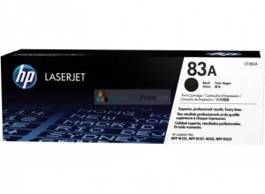 Black Toner HP 83A [CF283A]
