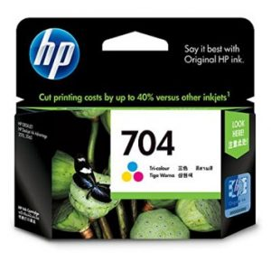 Jual Beli Cartridge HP 704 color